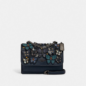 COACH KLARE CROSSBODY WITH BUTTERFLY APPLIQUE