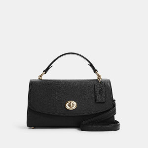 COACH TILLY SATCHEL 23 (IM/BLACK) - ESTIMATED TIME ARRIVAL (ETA) 26 APRIL 2021