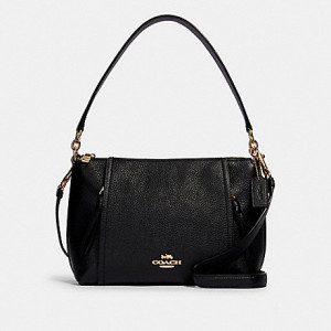 COACH SMALL MARLON SHOULDER BAG (IM/BLACK)
