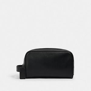 COACH SMALL TRAVEL KIT (QB/BLACK)