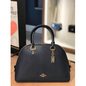 COACH KATY SATCHEL (M/BLACK)