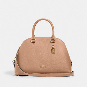 COACH KATY SATCHEL (M/TAUPE)