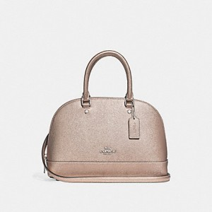 COACH MINI SIERRA SATCHEL (SV/PLATINUM)