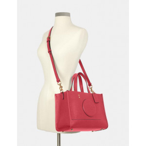 COACH DEMPSEY CARRYALL WITH PATCH (IM/FUCHSIA) - ESTIMATED TIME ARRIVAL (ETA) 26 APRIL 2021