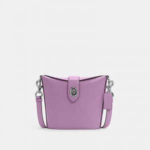 COACH ADDIE CROSSBODY (SV/VIOLET ORCHID)