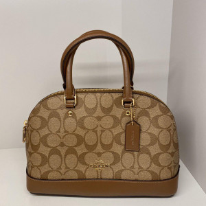 COACH MINI SIERRA SATCHEL IN SIGNATURE (SADDLE) - ETA (ESTIMATED TIME ARRIVAL) MALAYSIA 16 JUNE