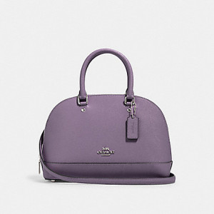 COACH MINI SIERRA SATCHEL (LAVENDAR)