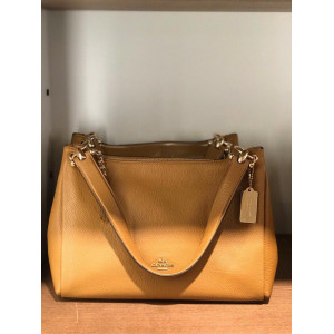 COACH MIA SHOULDER BAG (SADDLE)