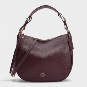COACH SUTTON HOBO (QD/OXBLOOD) - ESTIMATED TIME ARRIVAL (ETA) 26 APRIL 2021