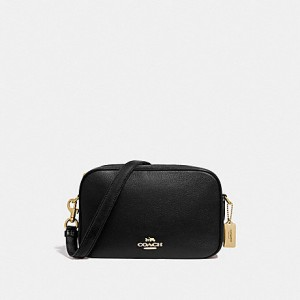 COACH JES CROSSBODY (BLACK/LIGHT GOLD)