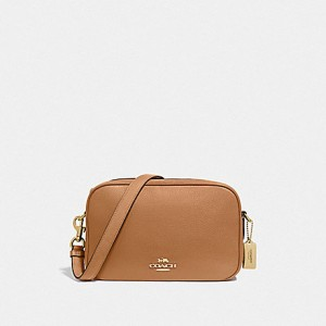 COACH JES CROSSBODY (IM/LIGHT SADDLE)