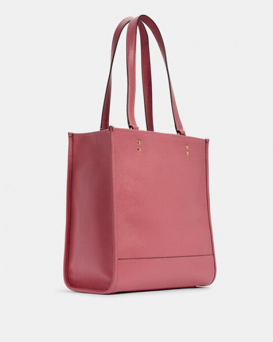 COACH DEMPSEY TOTE WITH PATCH (IM/FUCHSIA)
