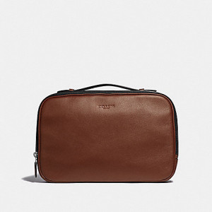 COACH MULTIFUNCTION POUCH (SADDLE)