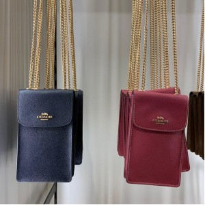 COACH NORTH/SOUTH PHONE CROSSBODY (IM/MIDNIGHT)
