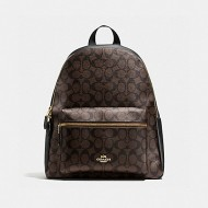 COACH CHARLIE BACKPACK IN SIGNATURE (BROWN/BLACK) - ETA (ESTIMATED TIME ARRIVAL) MALAYSIA 7TH OCTOBER