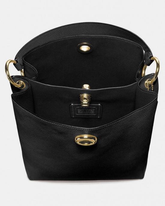 ETA 22 SEPTEMBER - COACH CHARLIE BUCKET BAG (BLACK)