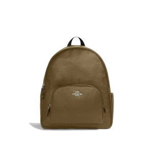 COACH LARGE COURT BACKPACK IN LEATHER (QB/KELP)
