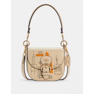 PRE ORDER - Coach X Jean-Michel Basquiat Kleo Shoulder Bag 17
