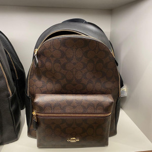 COACH CHARLIE BACKPACK IN SIGNATURE (BROWN/BLACK) - ETA (ESTIMATED TIME ARRIVAL) MALAYSIA 26TH OCTOBER