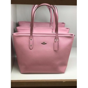 COACH CITY ZIP TOTE (TULIP)