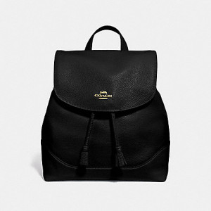 COACH ELLE BACKPACK (BLACK/IM GOLD) - ETA (ESTIMATED TIME ARRIVAL) MALAYSIA 26TH OCTOBER