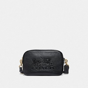 COACH JES CROSSBODY (BLACK/GOLD)