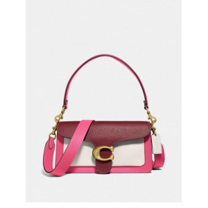 COACH TABBY SHOULDER BAG 26 IN COLORBLOACK (CONFETTI MULTI)