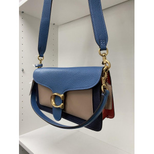 COACH TABBY SHOULDER BAG 26 IN COLORBLOACK (LAKE MULTI)