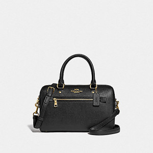 COACH ROWAN SATCHEL (BLACK)