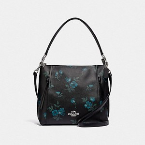 COACH MARLON HOBO WITH VICTORIAN FLORAL PRINT