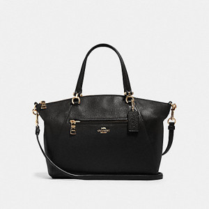 COACH PRAIRIE SATCHEL (IM/BLACK)