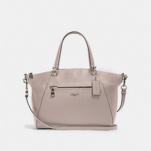 COACH PRAIRIE SATCHEL (SV/GREY BIRCH)