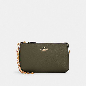 COACH LARGE WRISTLET (IM/CANTEEN)