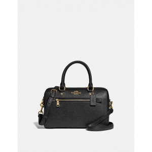 COACH ROWAN SATCHEL (BLACK) - ESTIMATED TIME ARRIVAL (ETA) 26 APRIL 2021