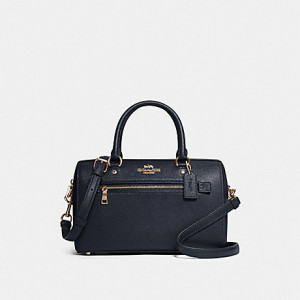 COACH ROWAN SATCHEL (IM/MIDNIGHT)