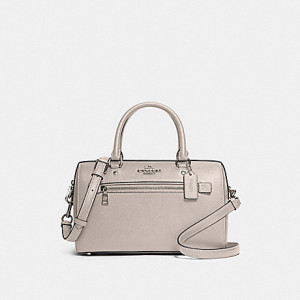 COACH ROWAN SATCHEL (SV/GREY BIRCH)