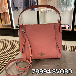 COACH MARLON HOBO (SV/LIGHT BLUSH)