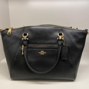 COACH PRAIRIE SATCHEL (IM/BLACK) - ETA (ESTIMATED TIME ARRIVAL) MALAYSIA 7 MARCH