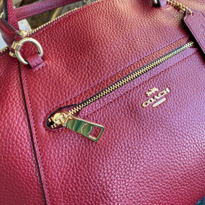 COACH PRAIRIE SATCHEL (IM/DEEP SCARLET) - ETA (ESTIMATED TIME ARRIVAL) MALAYSIA 16 JUNE
