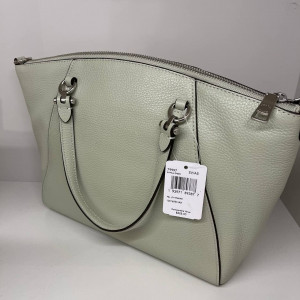 COACH PRAIRIE SATCHEL (SV/PALE GREEN)