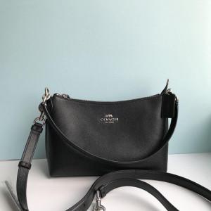 COACH LEWIS SHOULDER BAG (SV/BLACK)