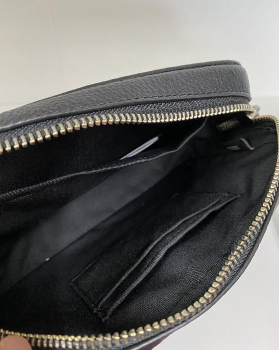COACH MINI CAMERA BAG (SV/BLACK)