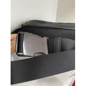 COACH EDGE BELT BAG (QB/BLACK)