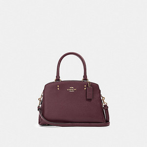 COACH MINI LILLIE CARRYALL (IM/BOYSENBERRY)