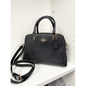 COACH MINI LILLIE CARRYALL (IM/BLACK)