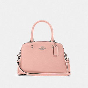 COACH MINI LILLIE CARRYALL (SV/LIGHT BLUSH)