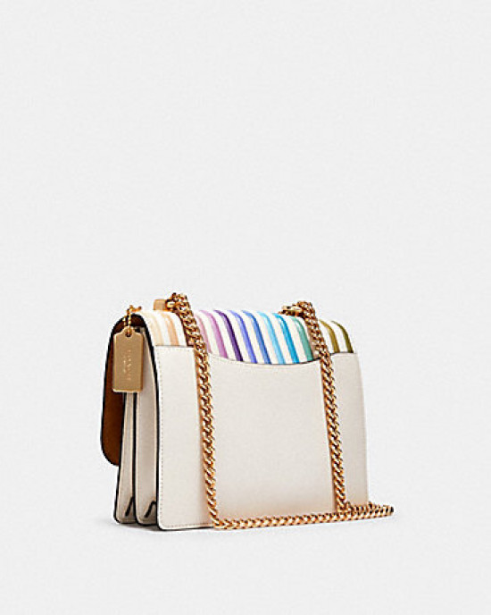 COACH KLARE CROSSBODY WITH OMBRE QUILTING (IM/CHALK MULTI)