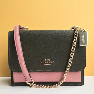 COACH KLARE CROSSBODY IN COLORBLOCK (IM/CANTEEN MULTI)