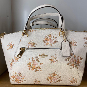 COACH PRAIRIE SATCHEL WITH ROSE BOUQUET PRINT (IM/CHALK MULTI) - ETA (ESTIMATED TIME ARRIVAL) MALAYSIA 16 JUNE