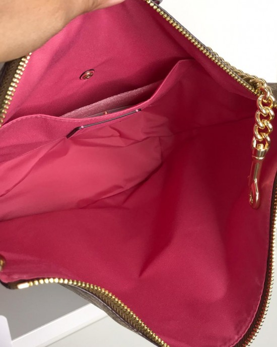 COACH PAXTON DUFFLE IN SIGNATURE (IM/KHAKI/ PINK RUBY)